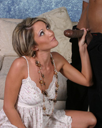 Amateur Interracial Porn 20 Inches of Dark Dick
