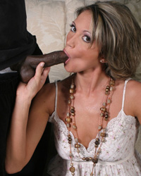 20 Inches of Dark Dick Blacks On Cougars Misty Vonage