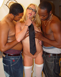 Dr. Pipes and Black Wife Interracial Gangbang