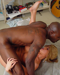 Ghetto N. Interracial Creampie Gangbang