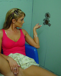 GloryHole Action Black Cock Only