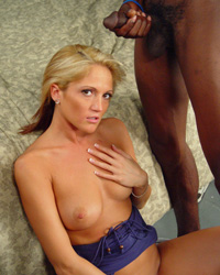 Jason Brown - Spring Thomas  interracial fuck cum in mouth