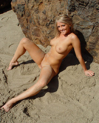 Malibu - Spring Thomas public nudity beach spread solo