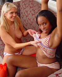 More Black Snatch Latina Cuckold